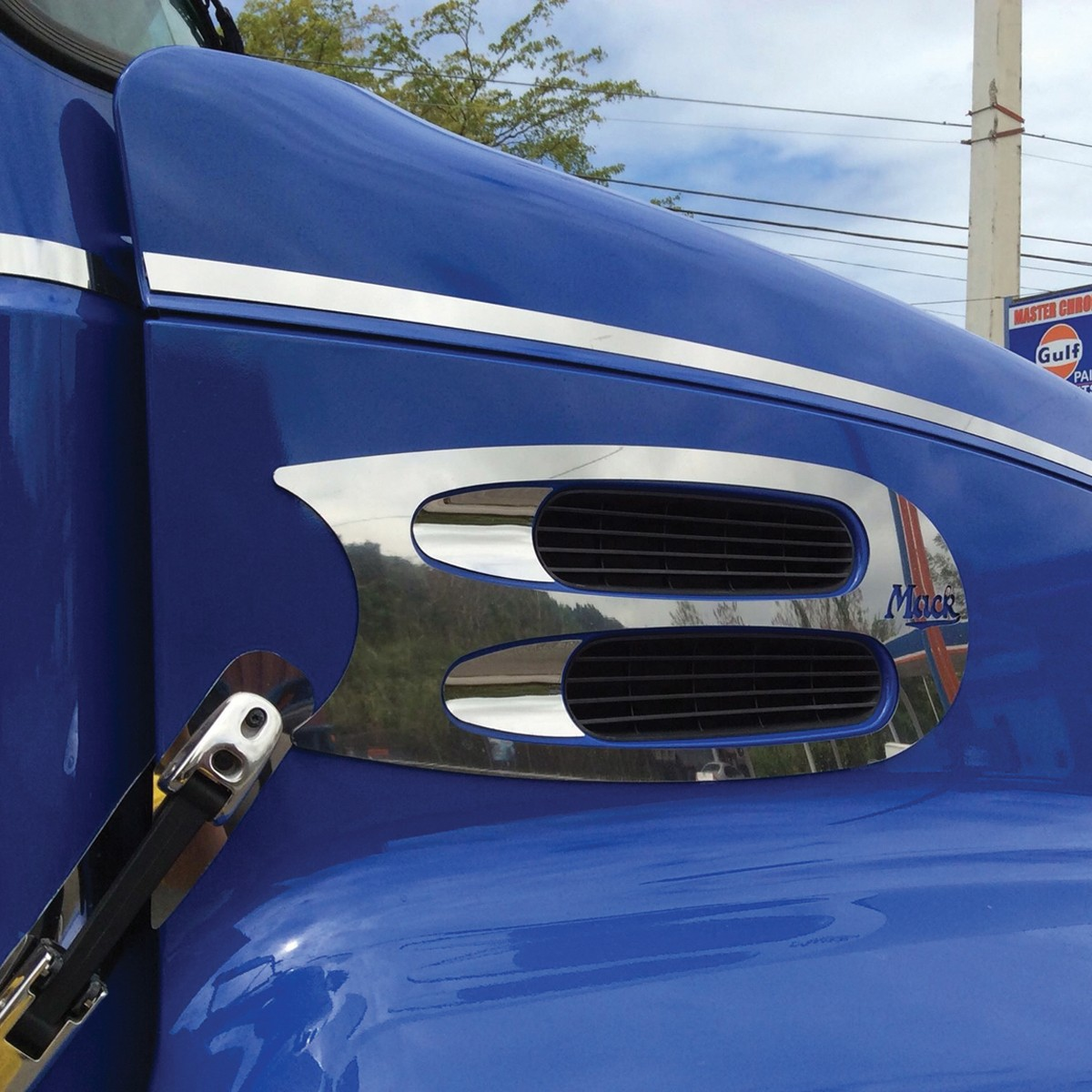 Mack Air Intake Trim Air Intake Trims Exterior Trims