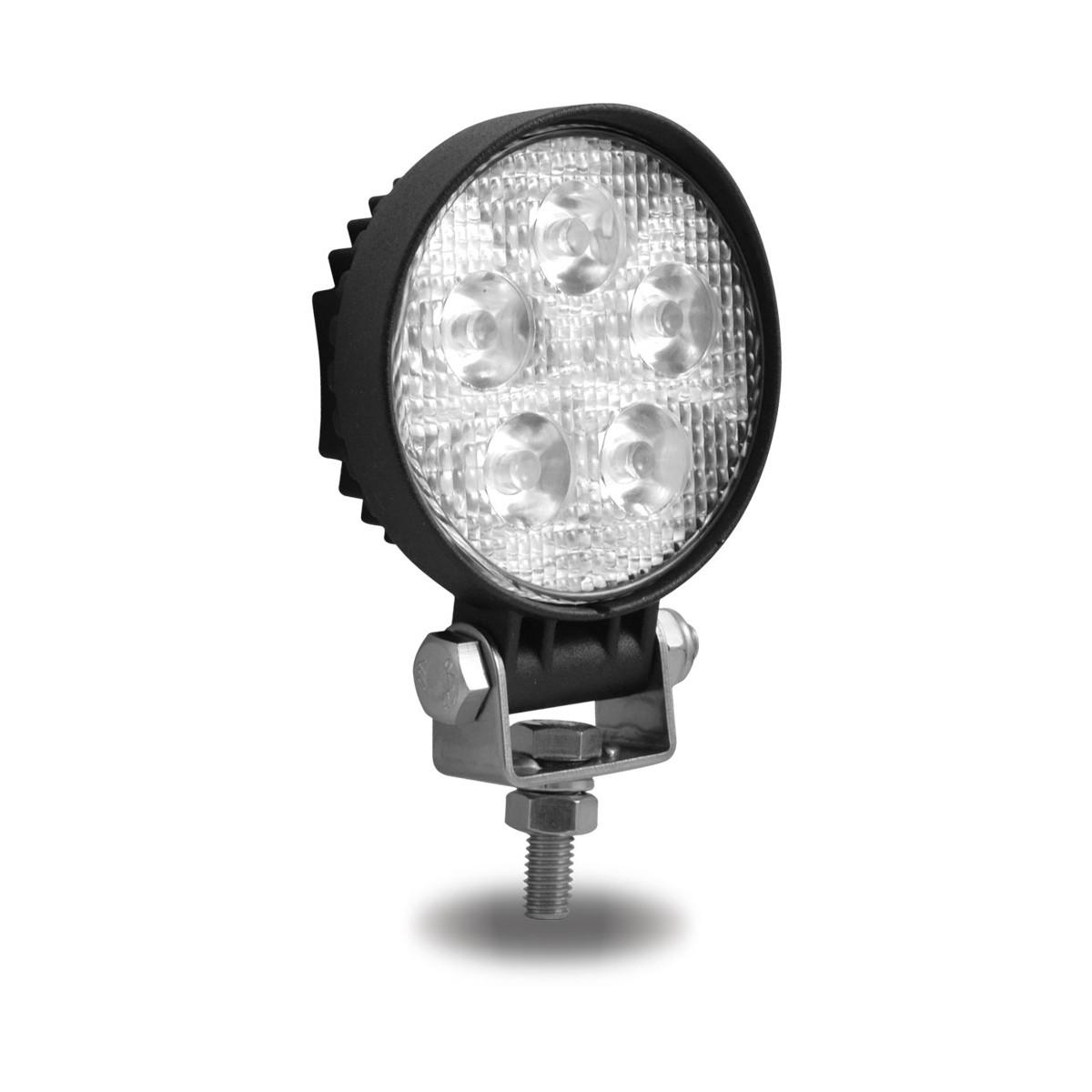 3 mini round spot work lamp 900 lumens round work lamps work lamps. Black Bedroom Furniture Sets. Home Design Ideas
