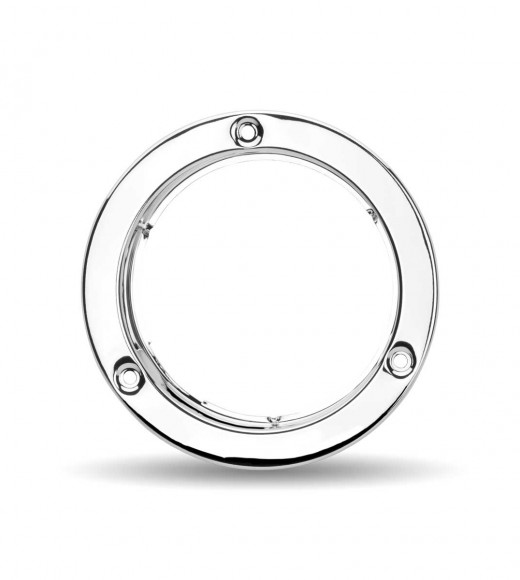 """4"""" Stainless Steel """"Security Lock Ring"""" Bezel"""