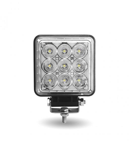 "4.25"" Square 'Radiant Series' LED Work Lamp (Spot & Flood Beam | 4000 Lumens)"