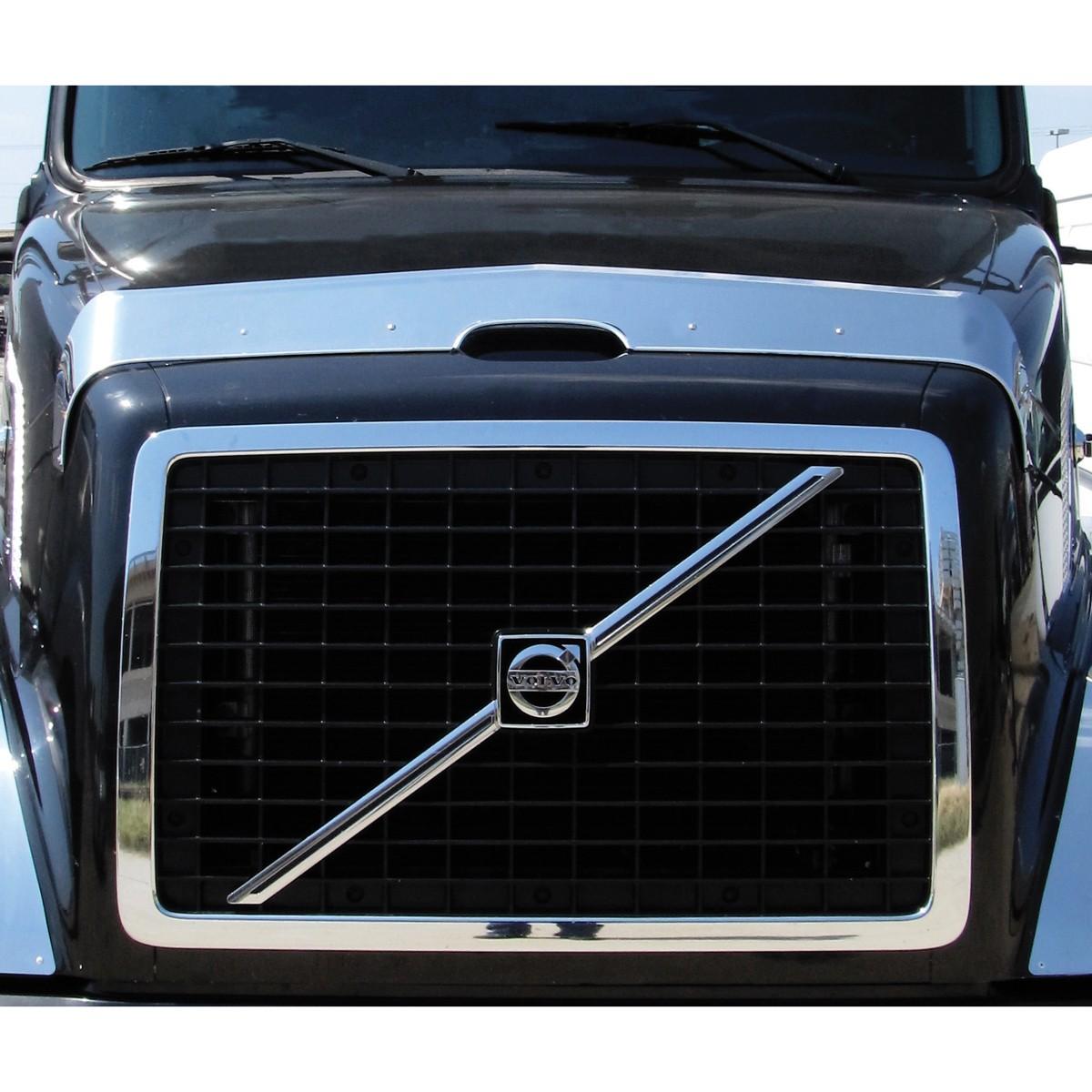 Volvo Vn Hood Shield Bug Deflector Hood Shield Bug