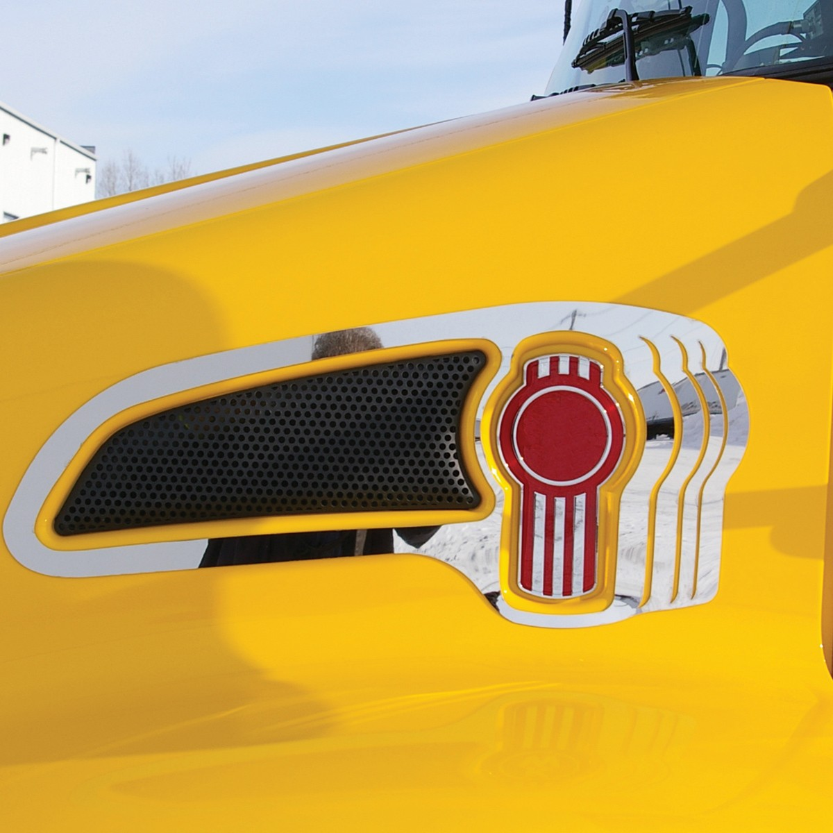 Western Star 4900 >> KW. Air Intake Trim Multiple Logo - Air Intake / Logo ...
