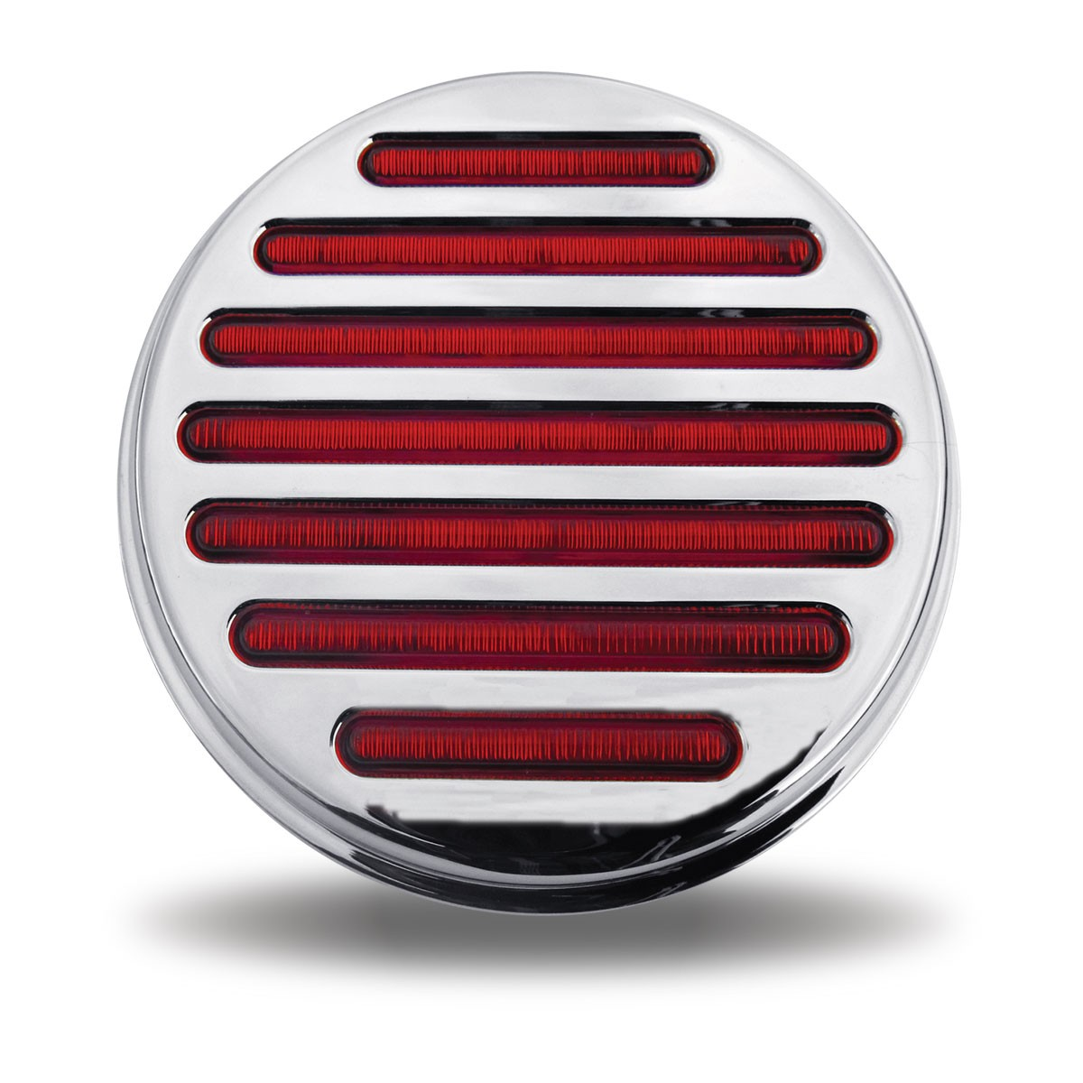 4 Quot Clear Red Stop Turn Amp Tail Led Light 49 Diodes 4