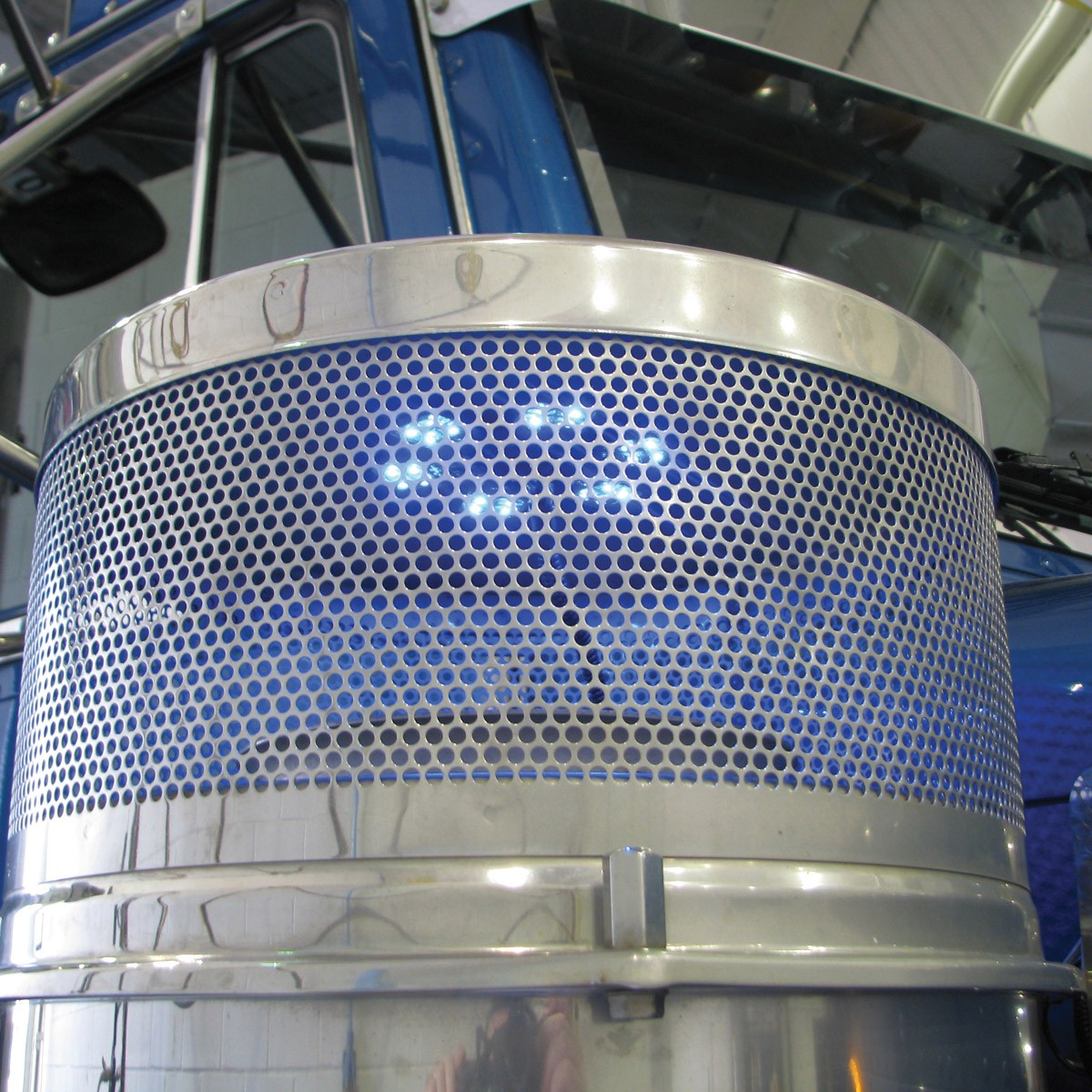 """5"""" Blue LED Star Light For 13"""" Donaldson Air Cleaners (24"""