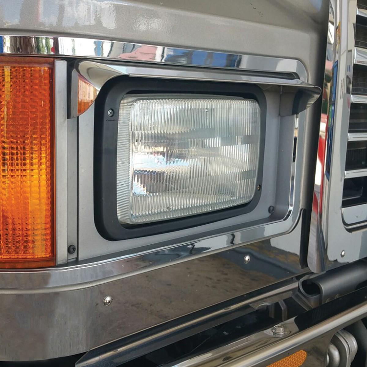 MACK CH Single Headlight Visor - Headlight Visors ...
