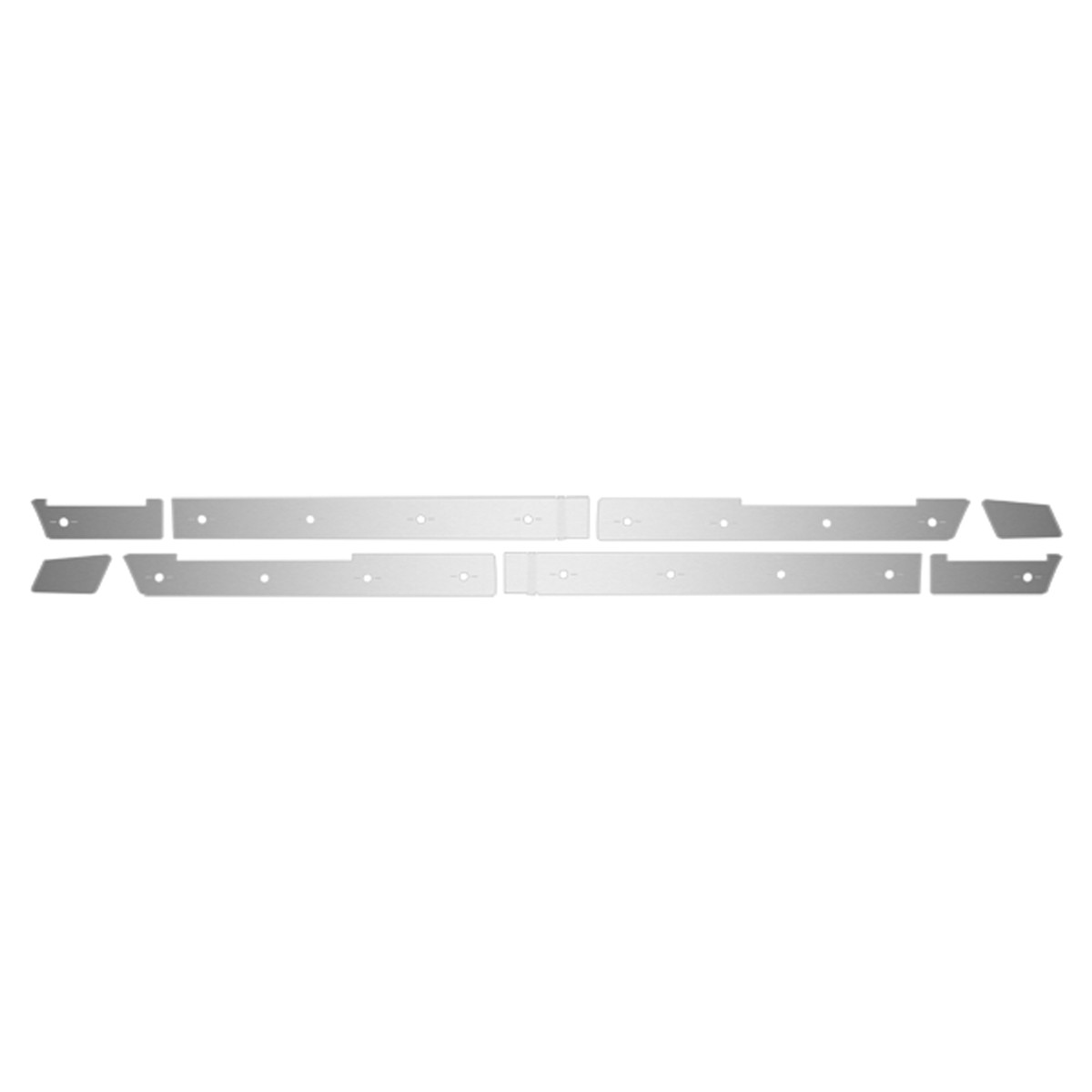 Volvo Center Fairing Trim Kit 2012 16 Slotted Holes