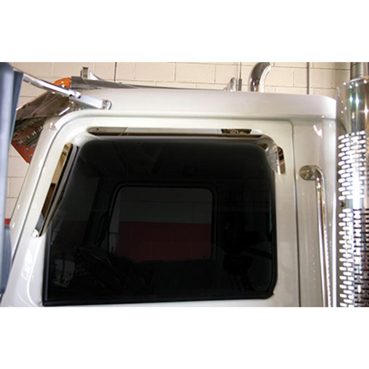 Ws Window Deflector Mirror On Cab Door Amp Window Trims