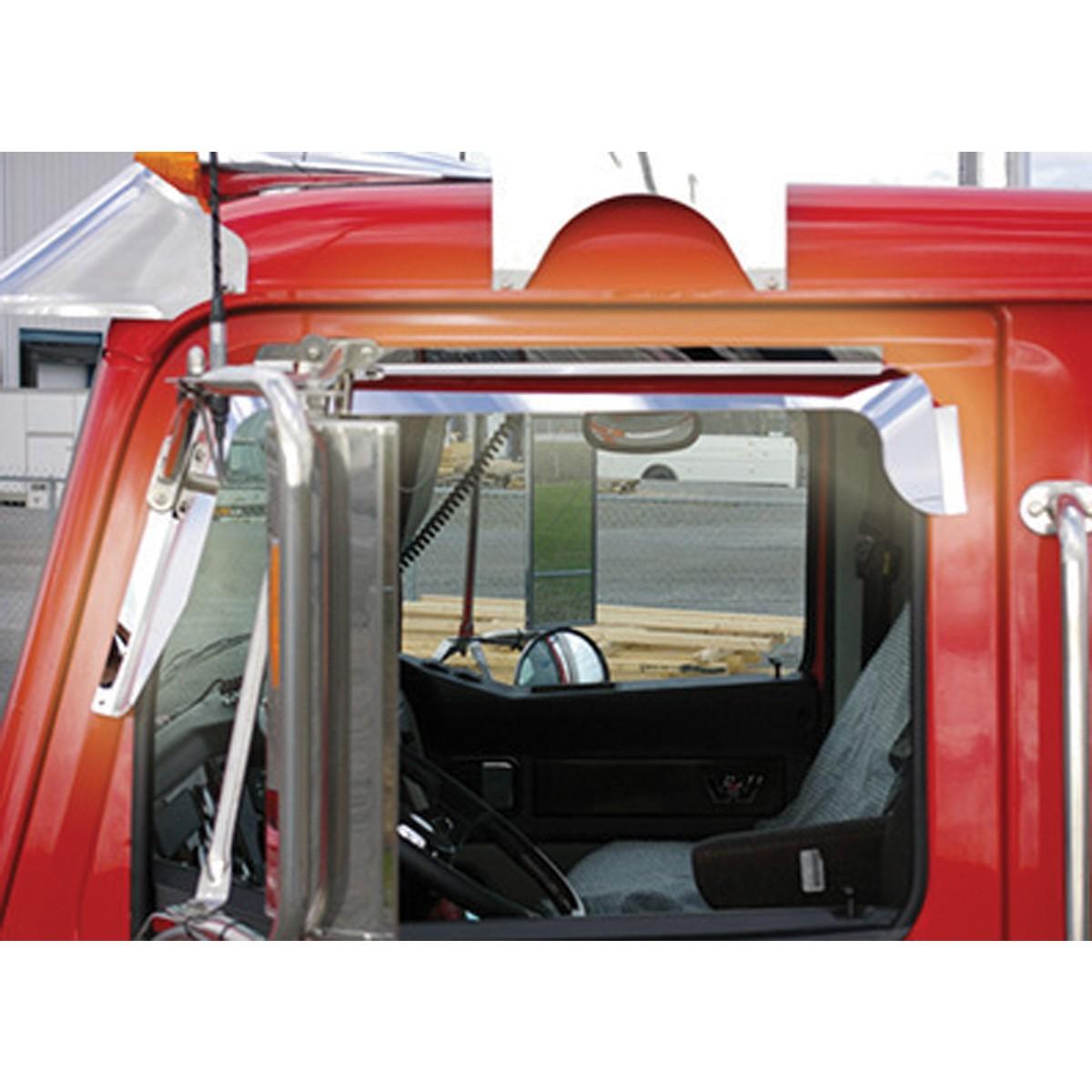 Ws Window Deflector Mirror On Door Door Amp Window