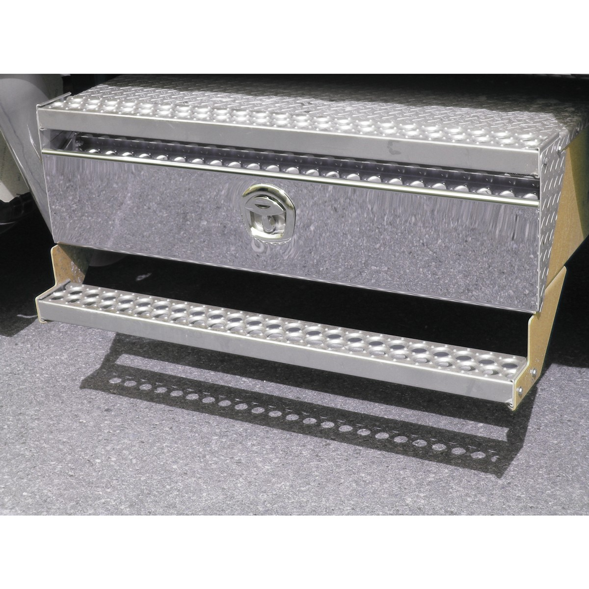 """Western Star 4900 >> WS. 48"""" Side Battery Box Cover - New Latch Style - Battery ..."""