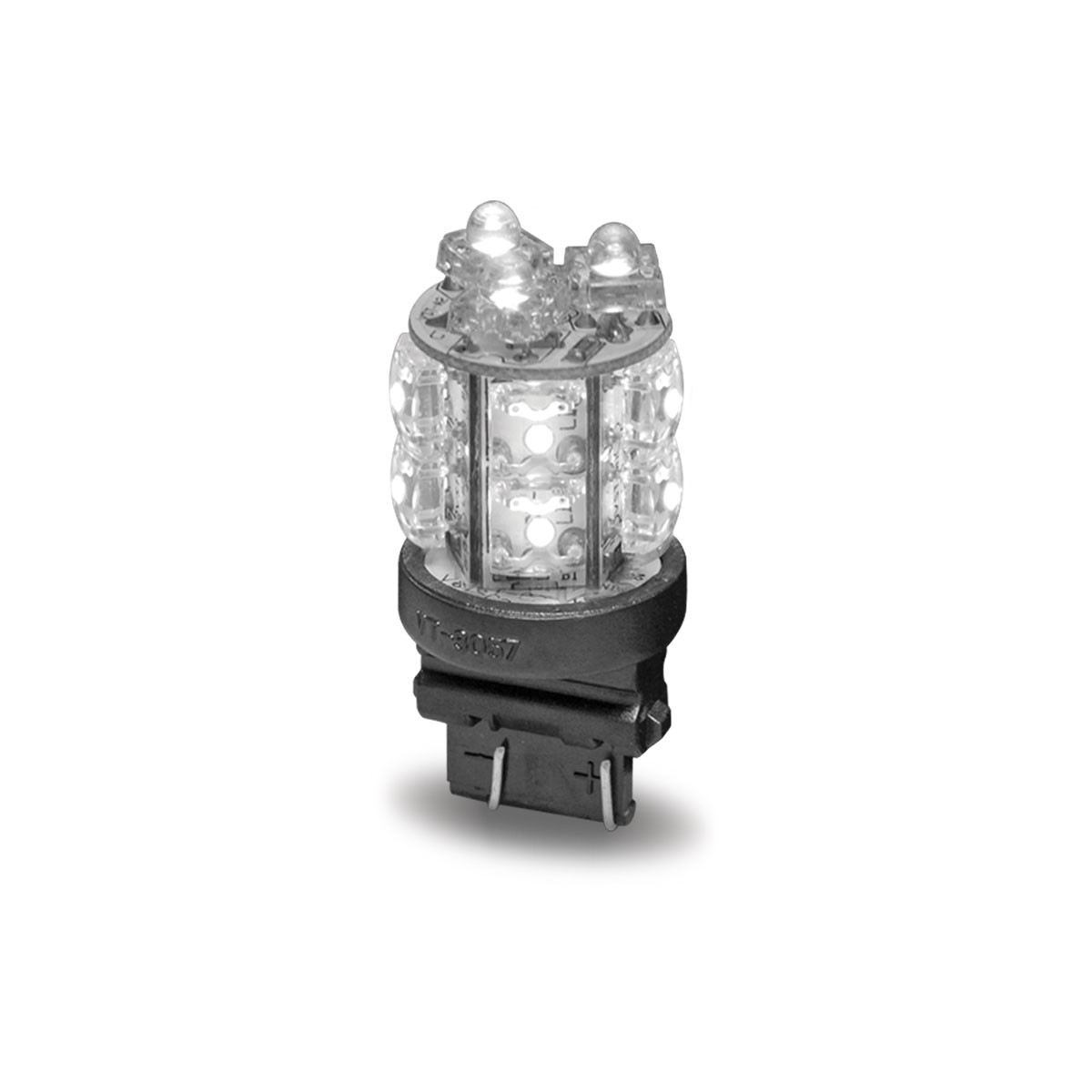 Lighting Basement Washroom Stairs: White Push In Replacement LED Bulb (13 Diodes)