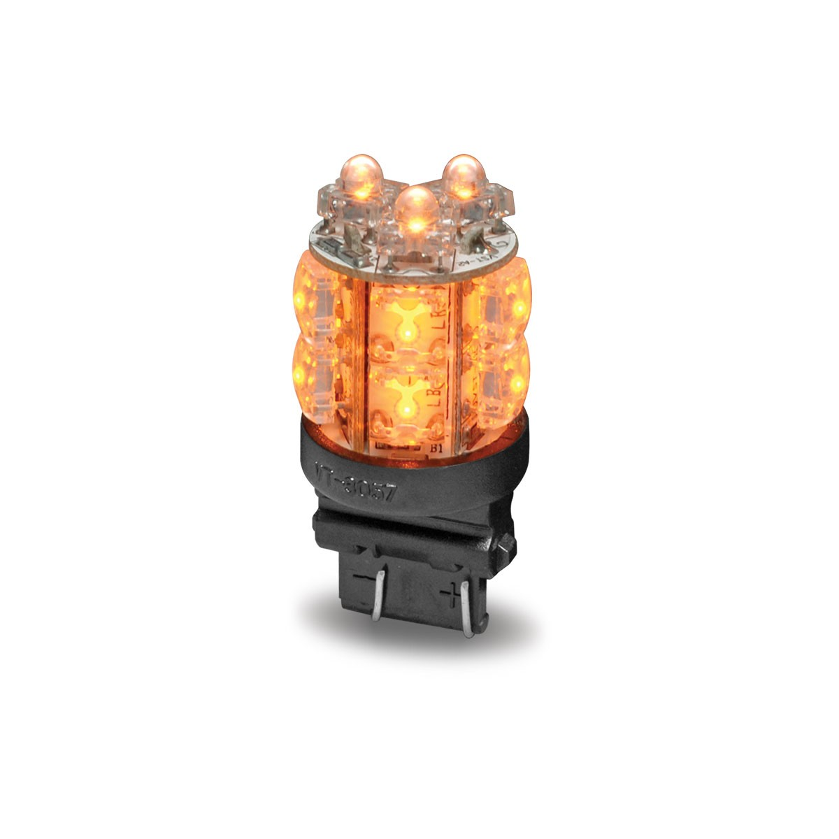 Lighting Basement Washroom Stairs: Amber Push In Replacement LED Bulb (13 Diodes)