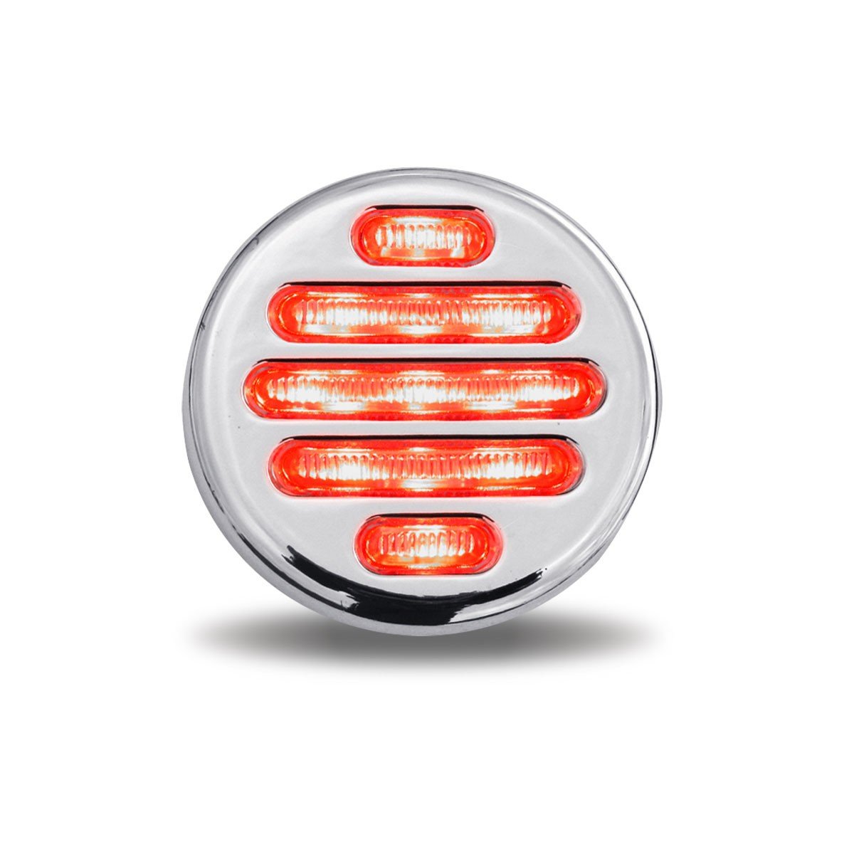 2 quot Clear Red LED Marker Light 9 Diodes