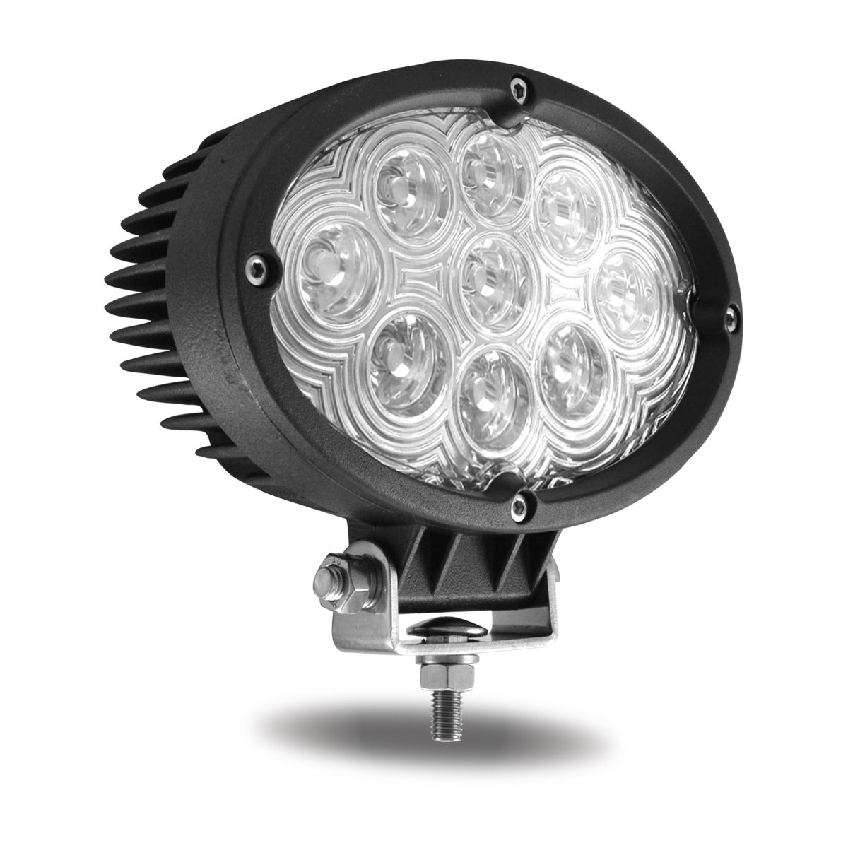 6 Quot Oval High Powered Led Work Lamp Spot Beam 900 Lumens