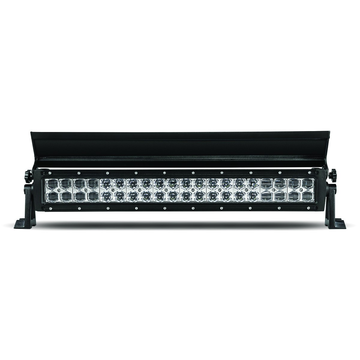 22 Double Row Led Light Bar With Cover Spot Flood Beam 8400 Wiring Harness