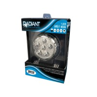 "4.5"" Round 'Radiant Series' LED Work Lamp (Spot & Flood Beam 