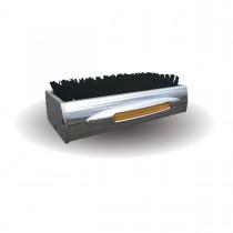 Chromed Amber LED Boot Brush