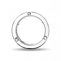 "4"" Stainless Steel ""Security Lock Ring"" Bezel"