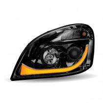 FTL. Cascadia Black LED Projector Headlight Assembly (Driver Side)
