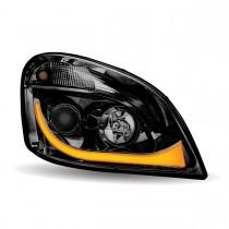 FTL. Cascadia Black LED Projector Headlight Assembly (Passenger Side)