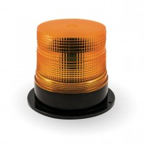 "Medium Profile Amber LED Strobe Light with 1 Flash Pattern (1"" Pipe Mount)"