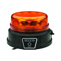 Class 1 Wireless Rechargeable Beacon LED Warning Light with Remote Control (Vacuum Magnet Mount)