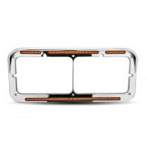 Amber Marker LED Headlight Bezel (51 Diodes)