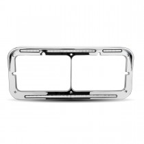 White Marker LED Headlight Bezel (51 Diodes)
