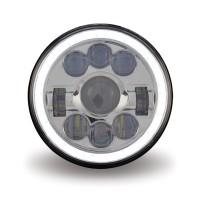 "7"" LED Projector Headlight (Combination High & Low Beam | 3000 Lumens)"