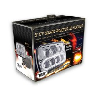 "5"" x 7"" LED Projector Headlight (Combination High & Low Beam 