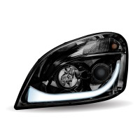 FTL. Cascadia Black LED Projector Headlight Assembly (Driver Side)