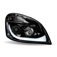 FTL. Cascadia Black LED Projector Headlight Assembly (Passenger Side)