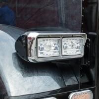 "4"" x 6"" Heated LED Projector Headlight (Low Beam   1300 Lumens)"