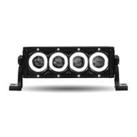 "8.5"" Halo Single Row LED Light Bar (Spot/Flood Beam | 2400 Lumens)"