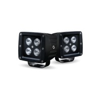 Universal Black Surface Mount 4 LED Sport Kit (Spot Beam | 1120 Lumens)