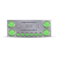 "Rear Center Panel w/ 4"" Dual LEDs / 2"" Dual LEDs / 2 License LEDs"