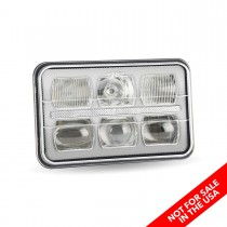 "4"" x 6"" LED Projector Headlight (Combination High & Low Beam 