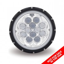 "7"" Off Road LED Headlight (Combination High & Low Beam 