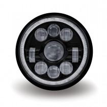 "7"" Black LED Projector Headlight (Combination High & Low Beam | 3000 Lumens)"
