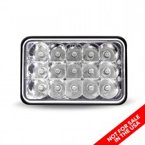 "4"" x 6"" Economy LED Headlight (Combination High & Low Beam 