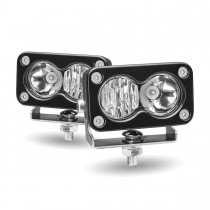 "3"" Mini Rectangular LED Work Lamps (Spot & Flood | 1000 Lumens)"