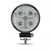 """4.5"""" 'Strobe Series' Spot LED Work Lamp Amber Strobe (1800 Lumens)"""