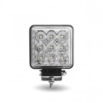 "4.25"" Square 'Radiant Series' LED Work Lamp (Spot & Flood Beam 