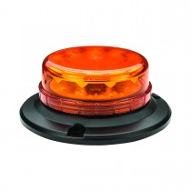 Class 1 Beacon Low Profile LED Warning Light (Permanent Single Bolt / 3 Bolt Mount)