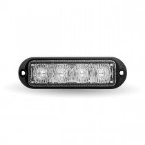 """Class 1 Directional 4 LED Surface Mount 4 Solid Color Strobe Light with """"L"""" Bracket (36 Flash Patterns)"""