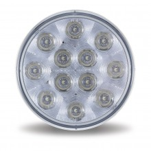 """4"""" Red Stop, Turn & Tail LED Light (12 Diodes)"""